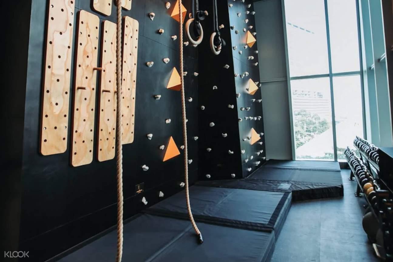 wall climbing di Paradigm Fitness Jakarta