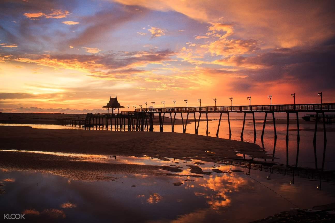 普吉島生態探險- 納泰海灘日落