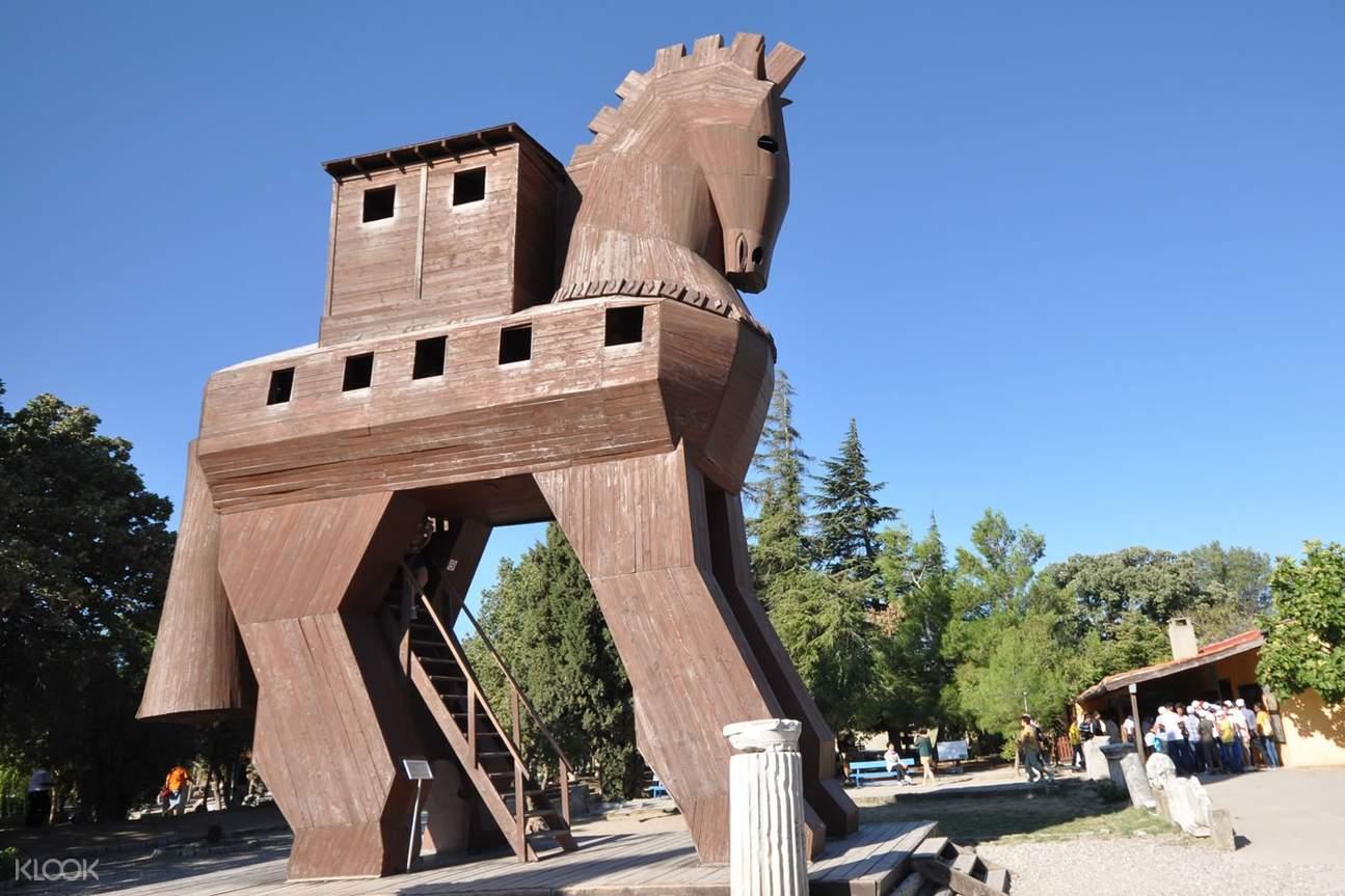 特洛伊古城一日遊