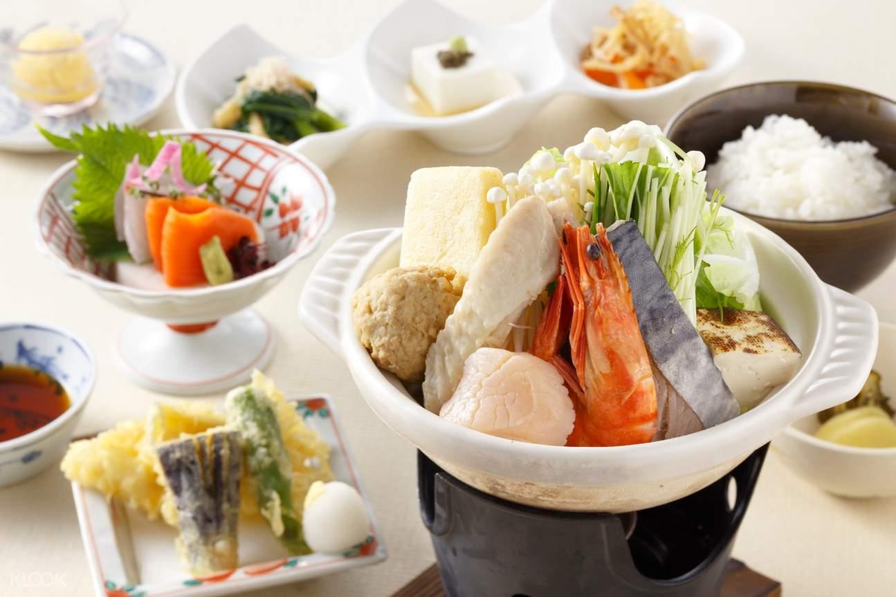相扑比赛晚餐寿喜烧