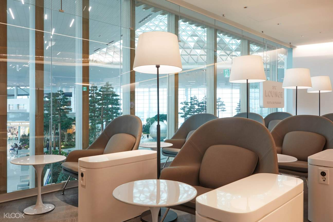 Incheon International Airport Lounge Service by SPC Lounge
