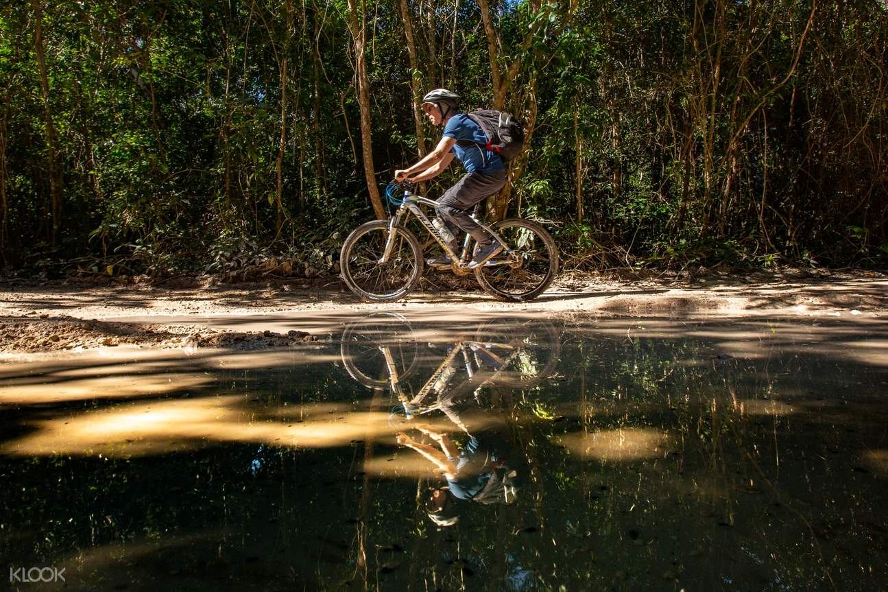 Ride on a forest trail in Tulum