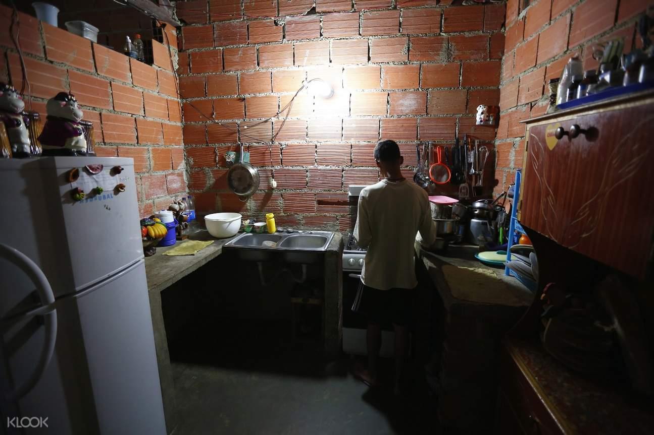 slum residence