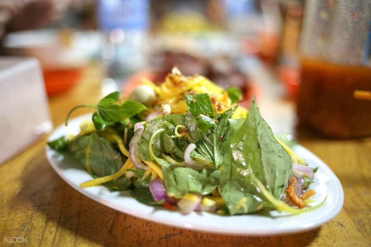 mango salad in cambodia
