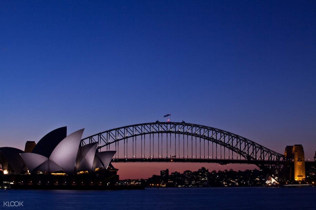 澳大利亞繽紛悉尼燈光音樂節& 海港大橋攀登體驗