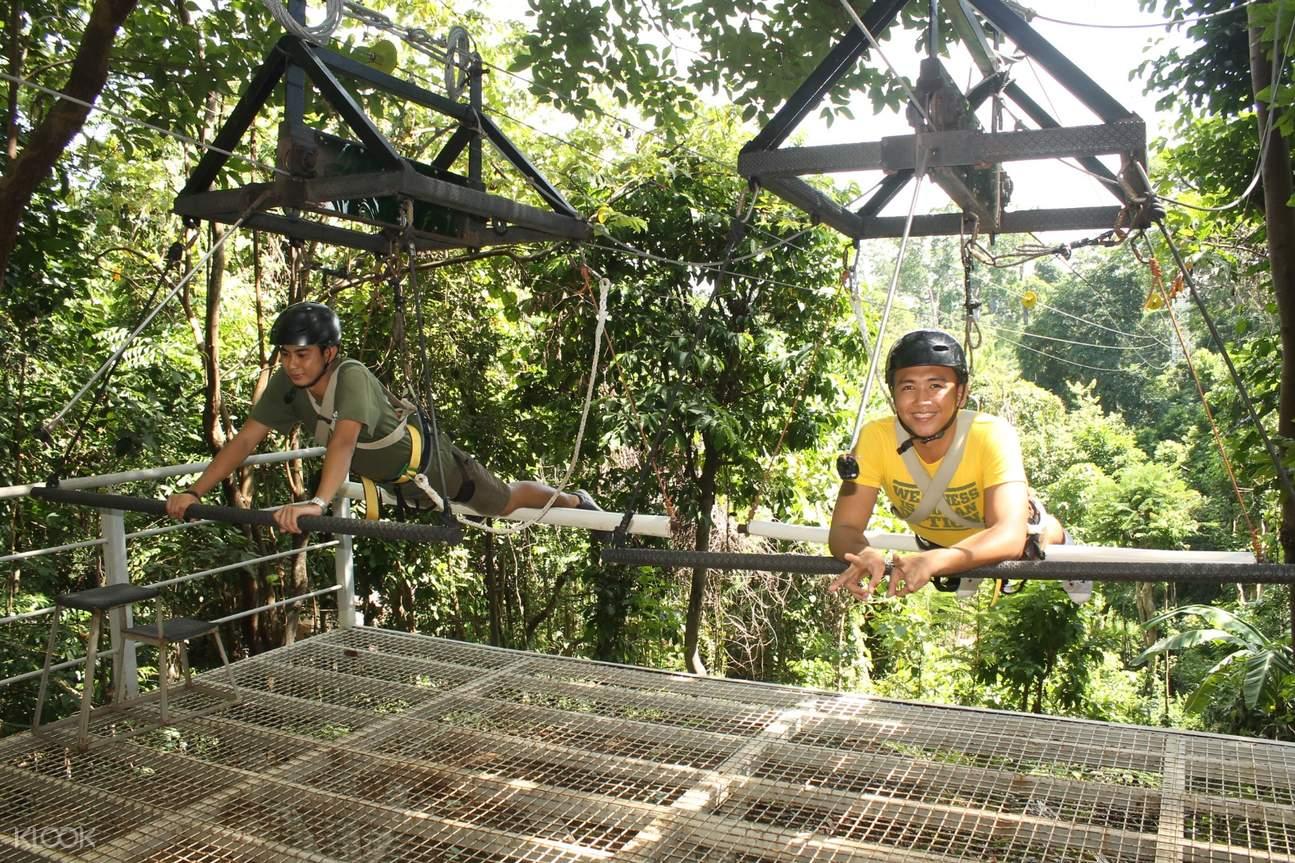 蘇比克樹頂冒險樂園 超人之旅