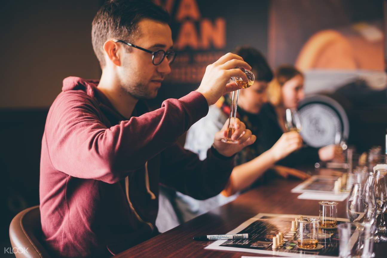 Kavalan Whisky Blending and Tasting
