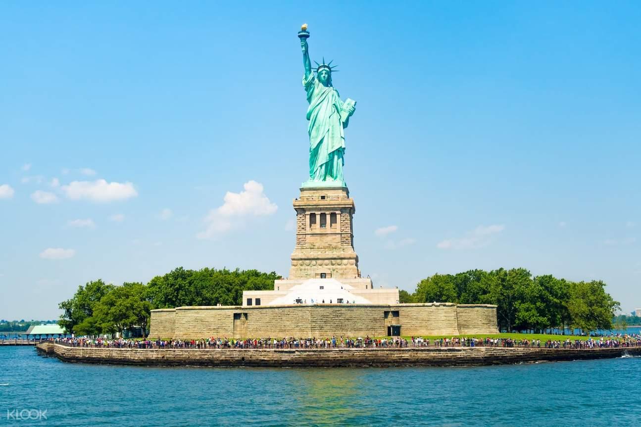 自由女神像埃利斯岛
