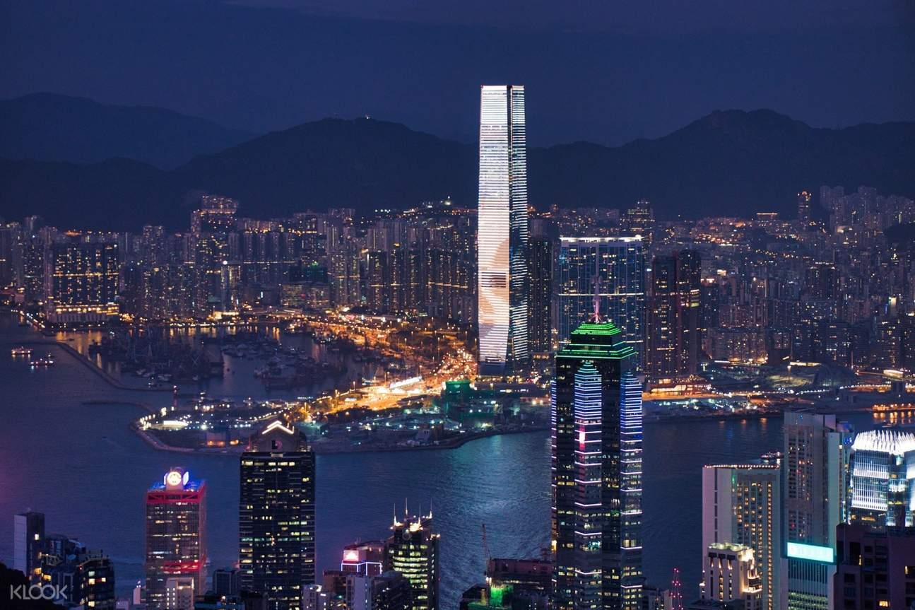 包车游览 香港一日包车(广州出发)