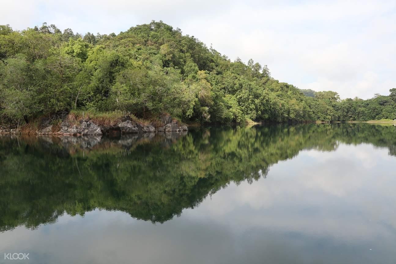 Blue Lake in Kuching
