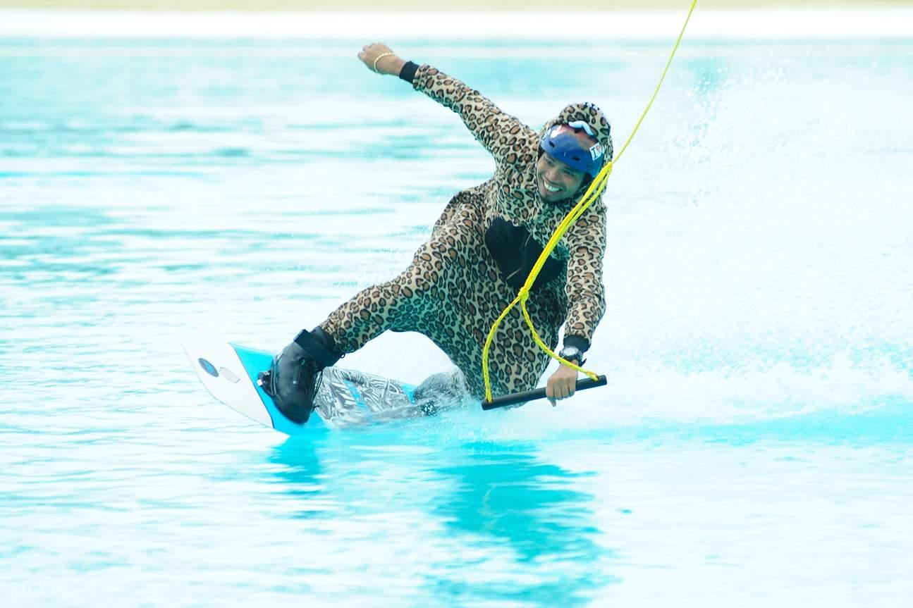 wakeboarding tricks chill cove bintan