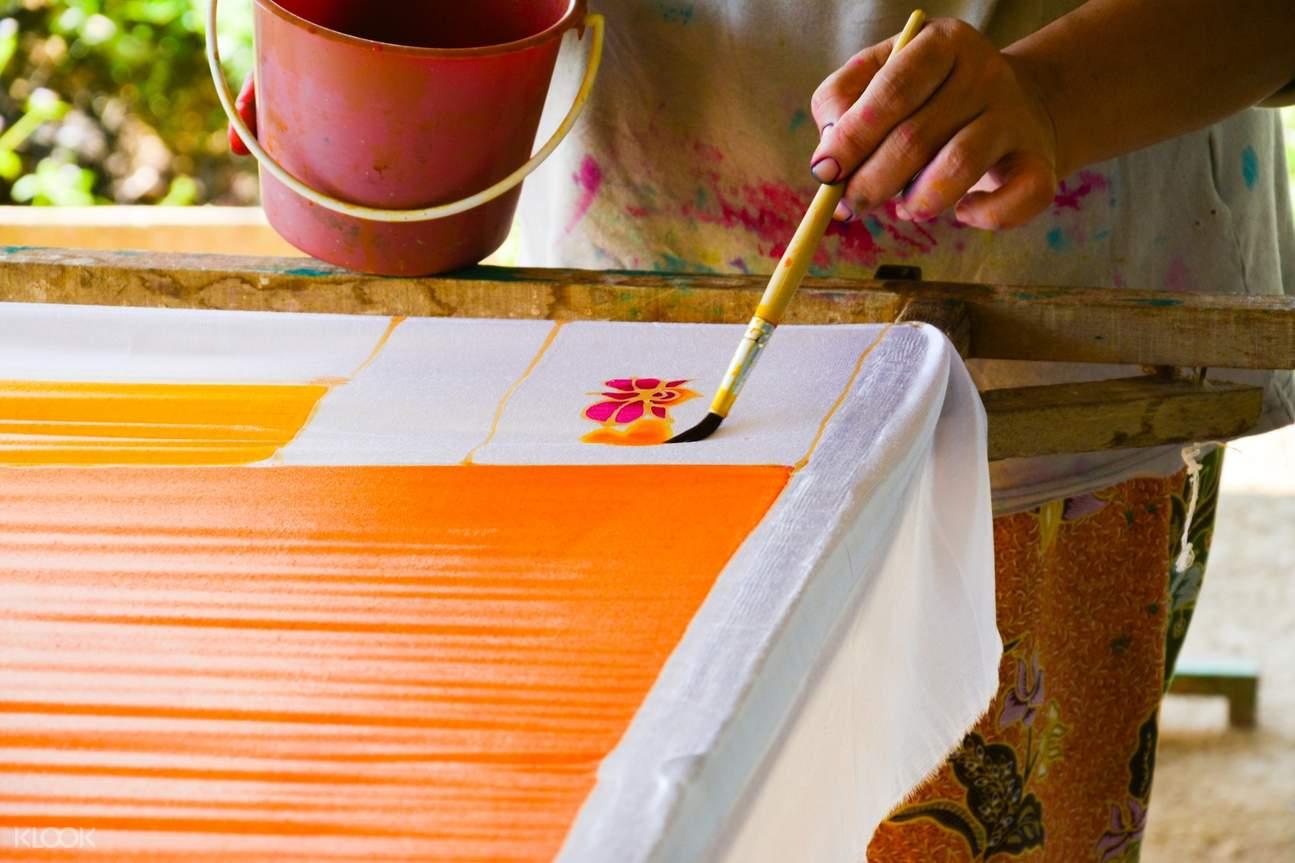 bali batik design