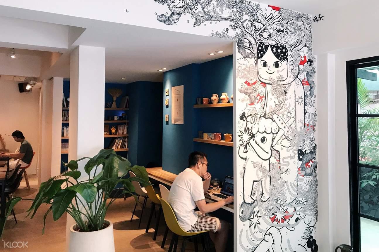 信义区Mucho Happiness咖啡室内