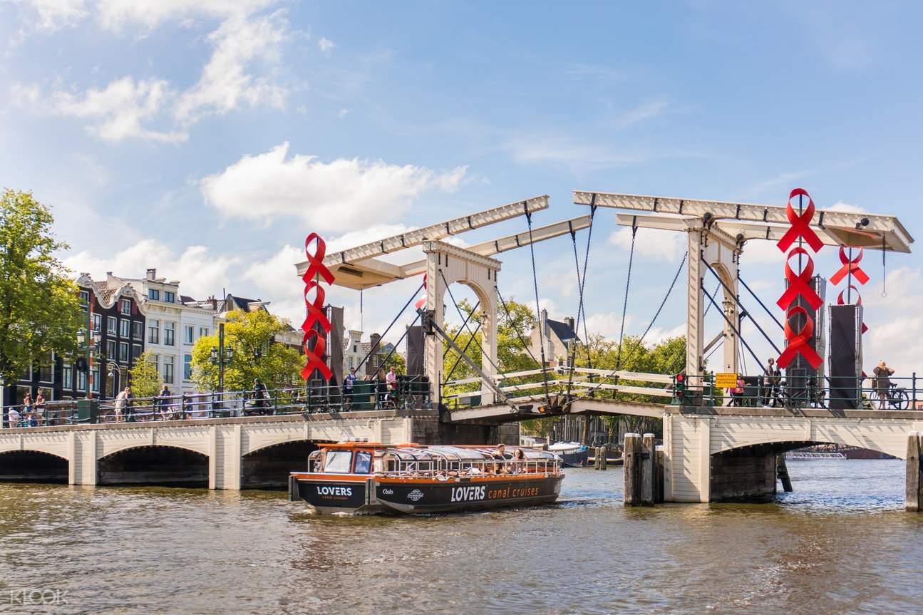 阿姆斯特丹半开放式游船