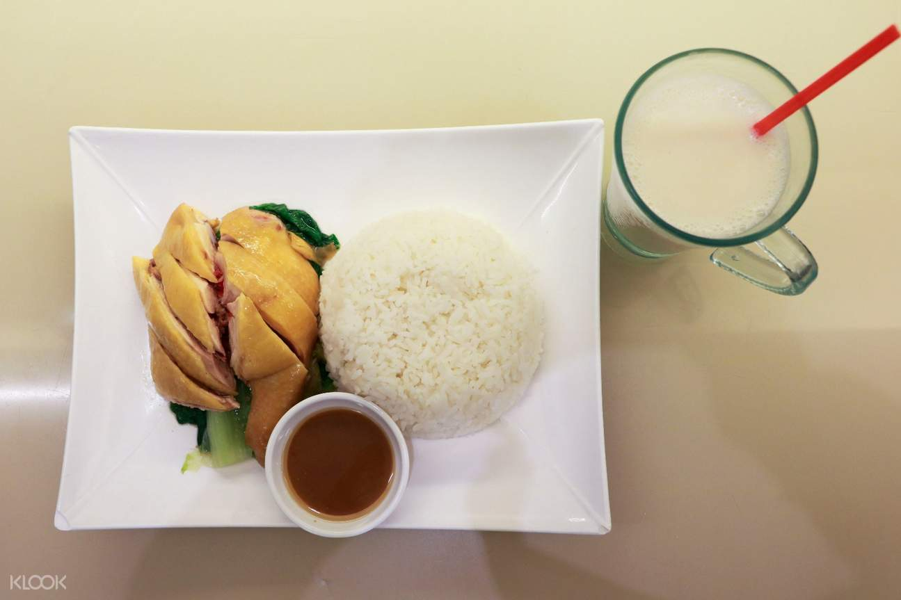 Baked Chicken in Salt Rice Set at Delicious Catering in Mong Kok