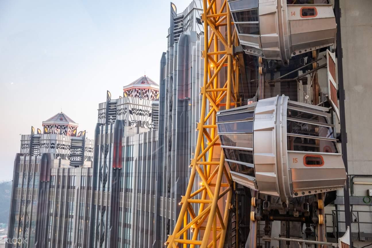 Golden Reel Ferris Wheel landmark Macau