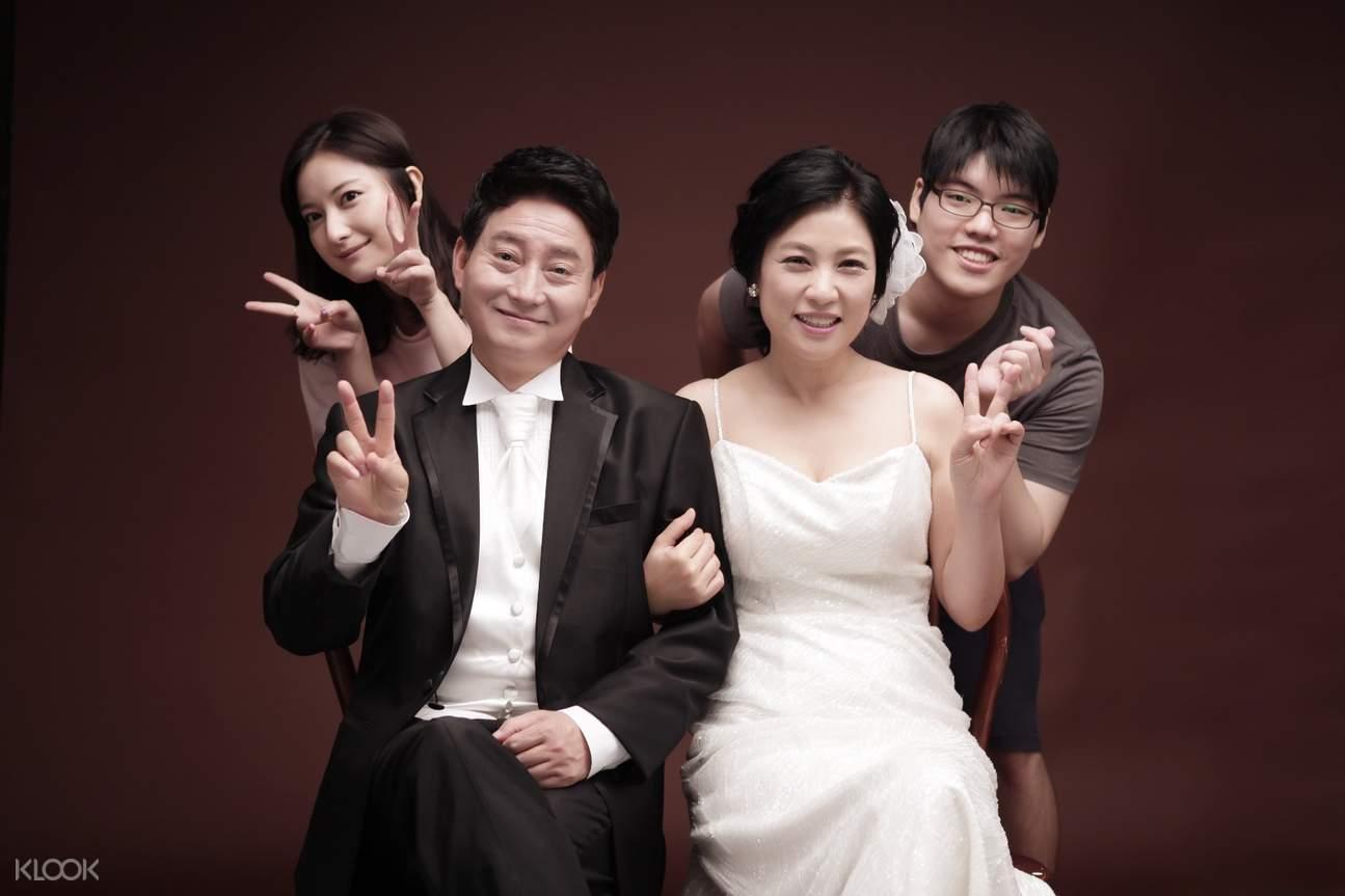 韓國吉安得全家福攝影體驗