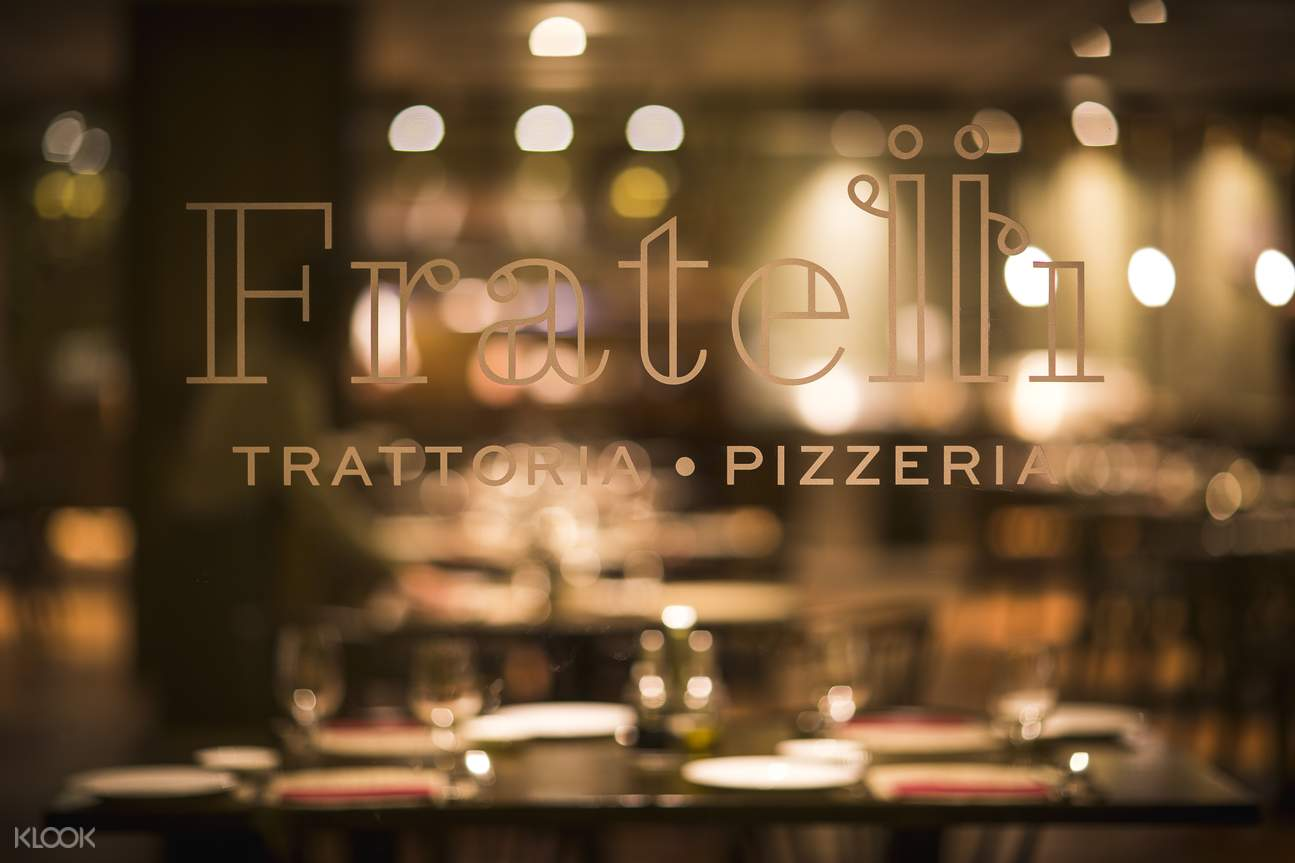 fratelli restaurant resorts world sentosa singapore