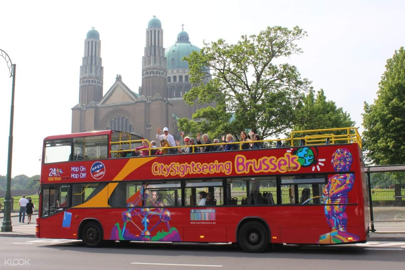 brussel hop on hop off bus tour