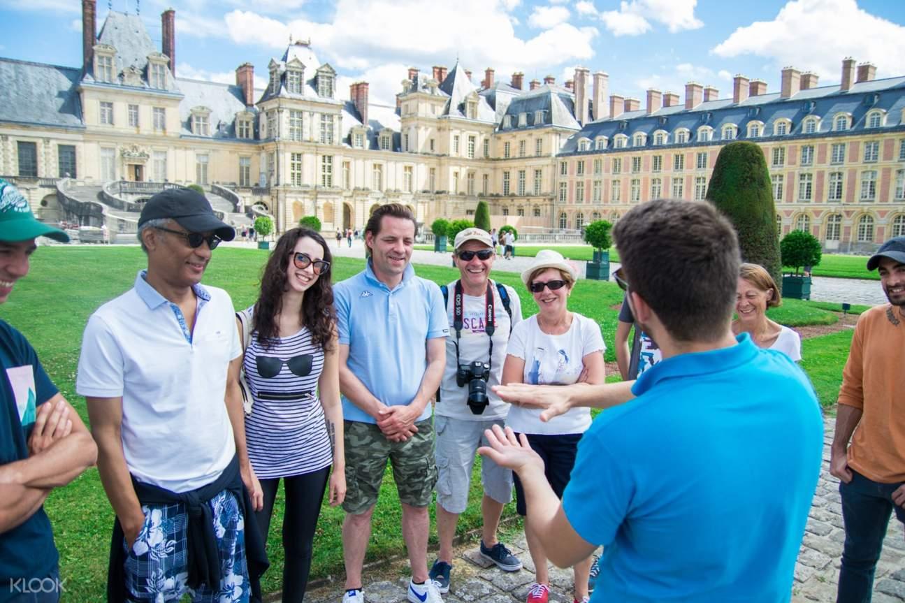 楓丹白露宮和子爵城堡