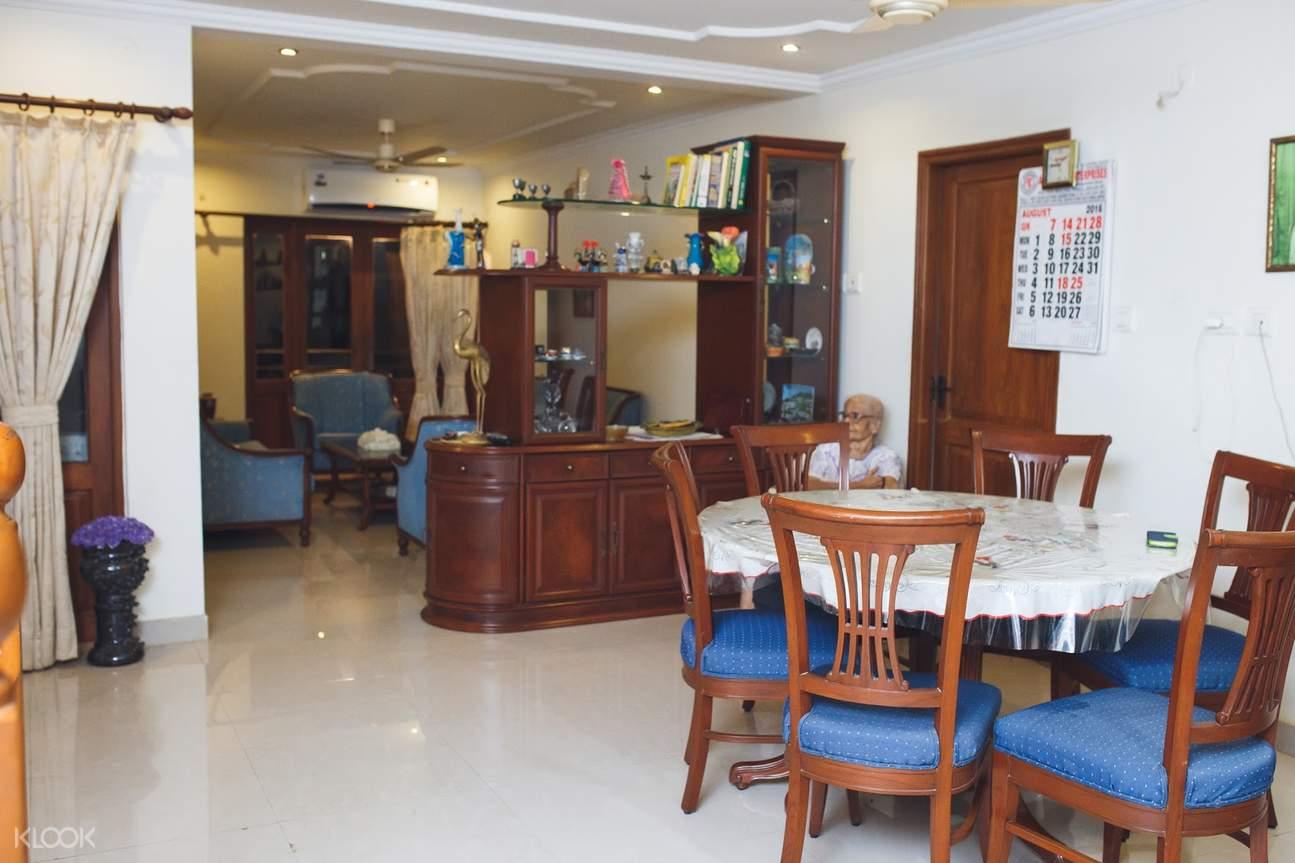 Goa home dining