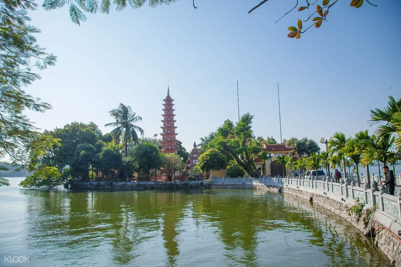 越南 河內 鎮國寺