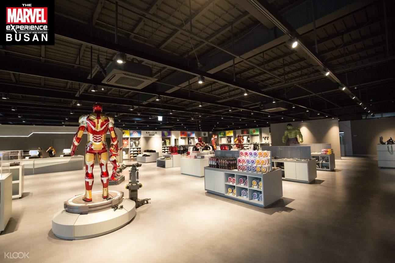 釜山漫威虚拟体验馆