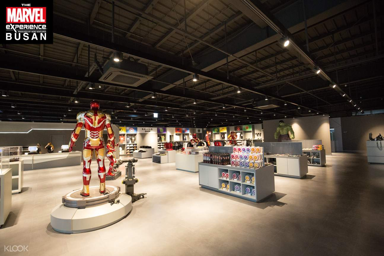 the marvel experience busan