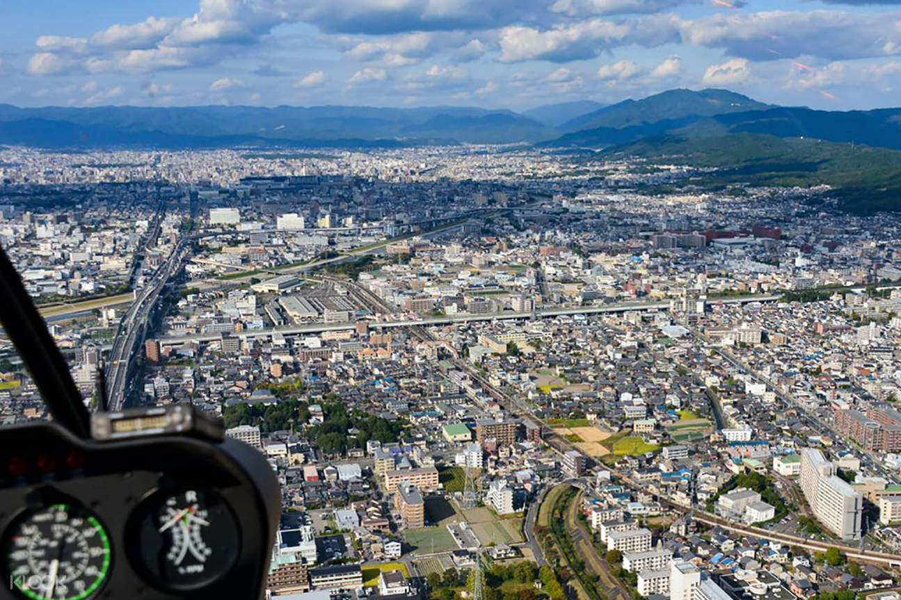 京都 昼・夜ヘリクルージング