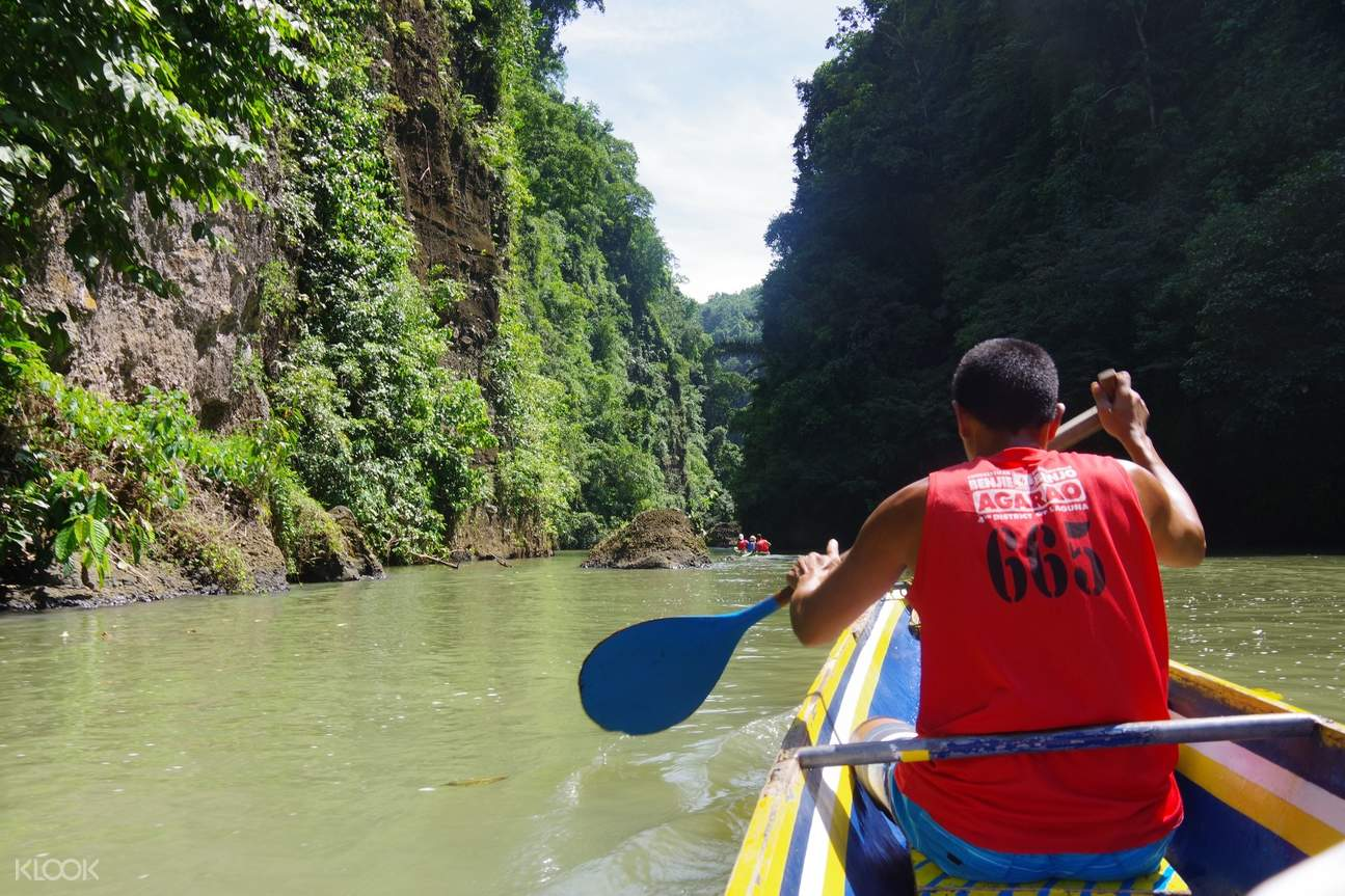Banca Ride Pagsanjan Falls Private Day Tour from Manila