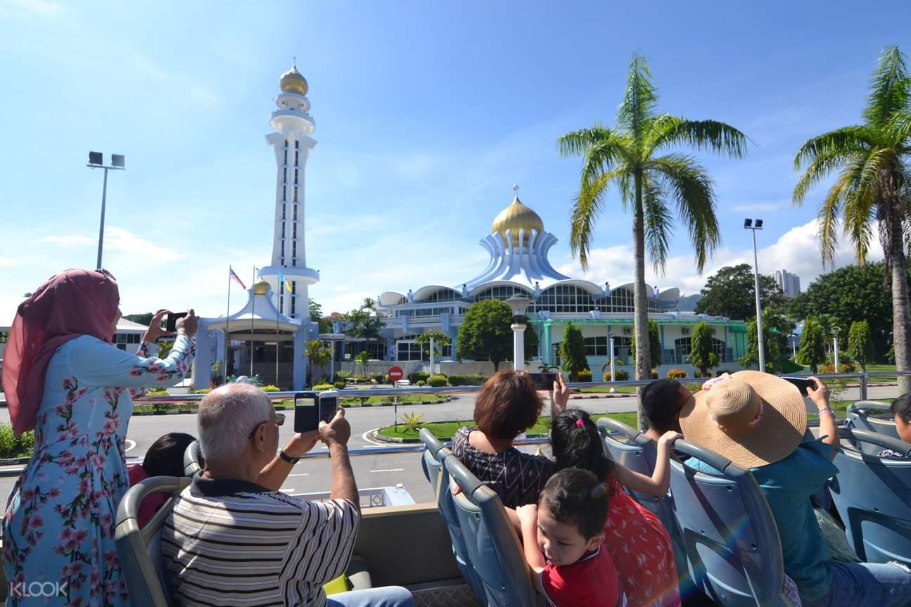 Penang Hop On Hop Off Double-Decker Bus Route