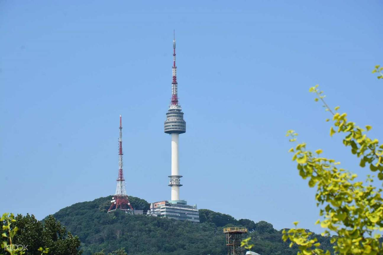 Nseoul tower in day time