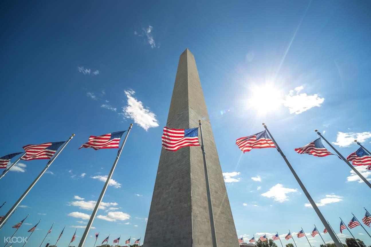 华盛顿特区景点,华盛顿特区通票,华盛顿纪念碑