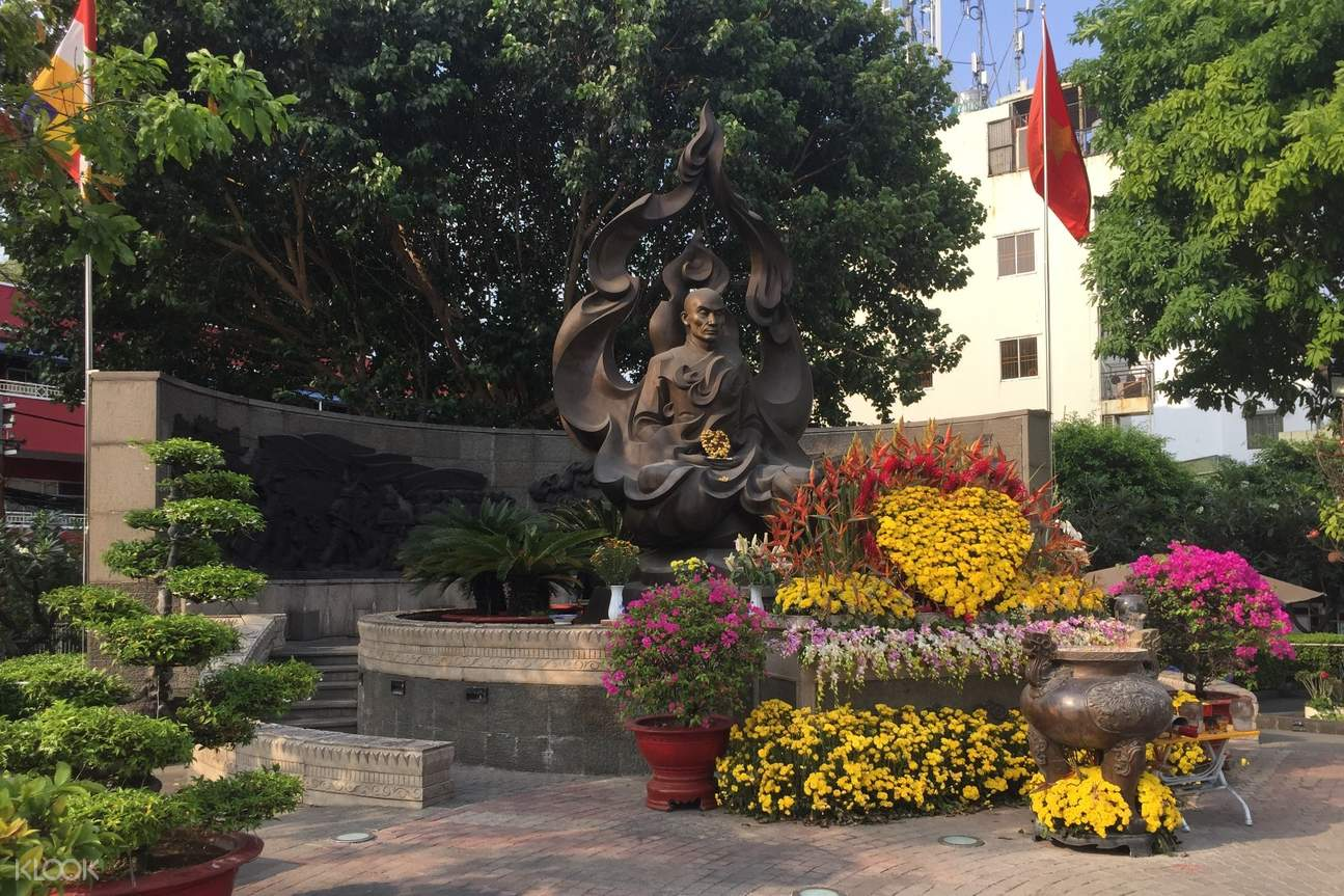 Venerated Thich Quang Duc monument