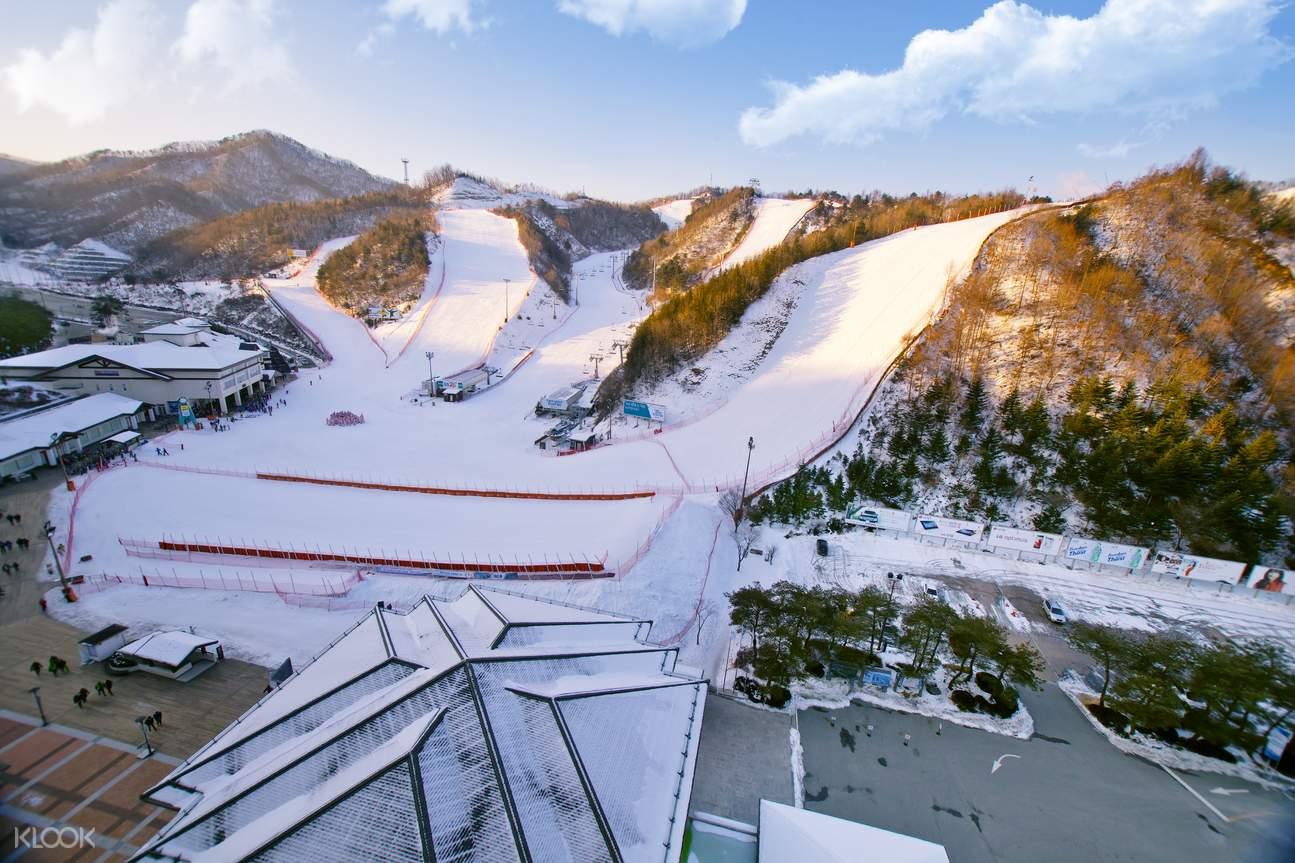 江原道Elysian 伊利希安滑雪場