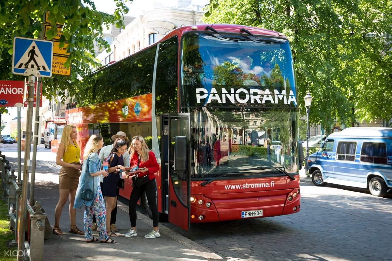 helsinki bus tour