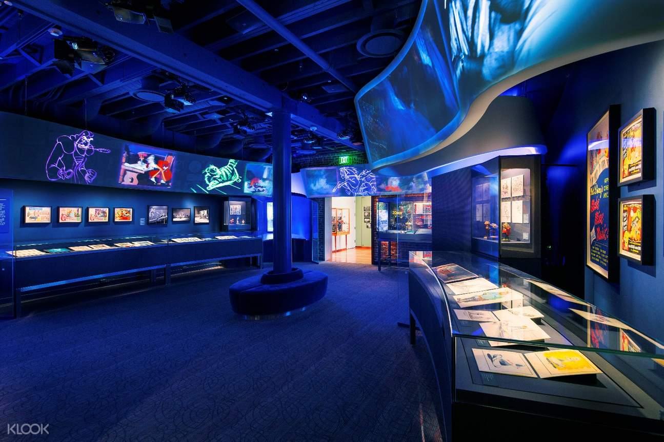 加州旧金山华特迪士尼家族博物馆