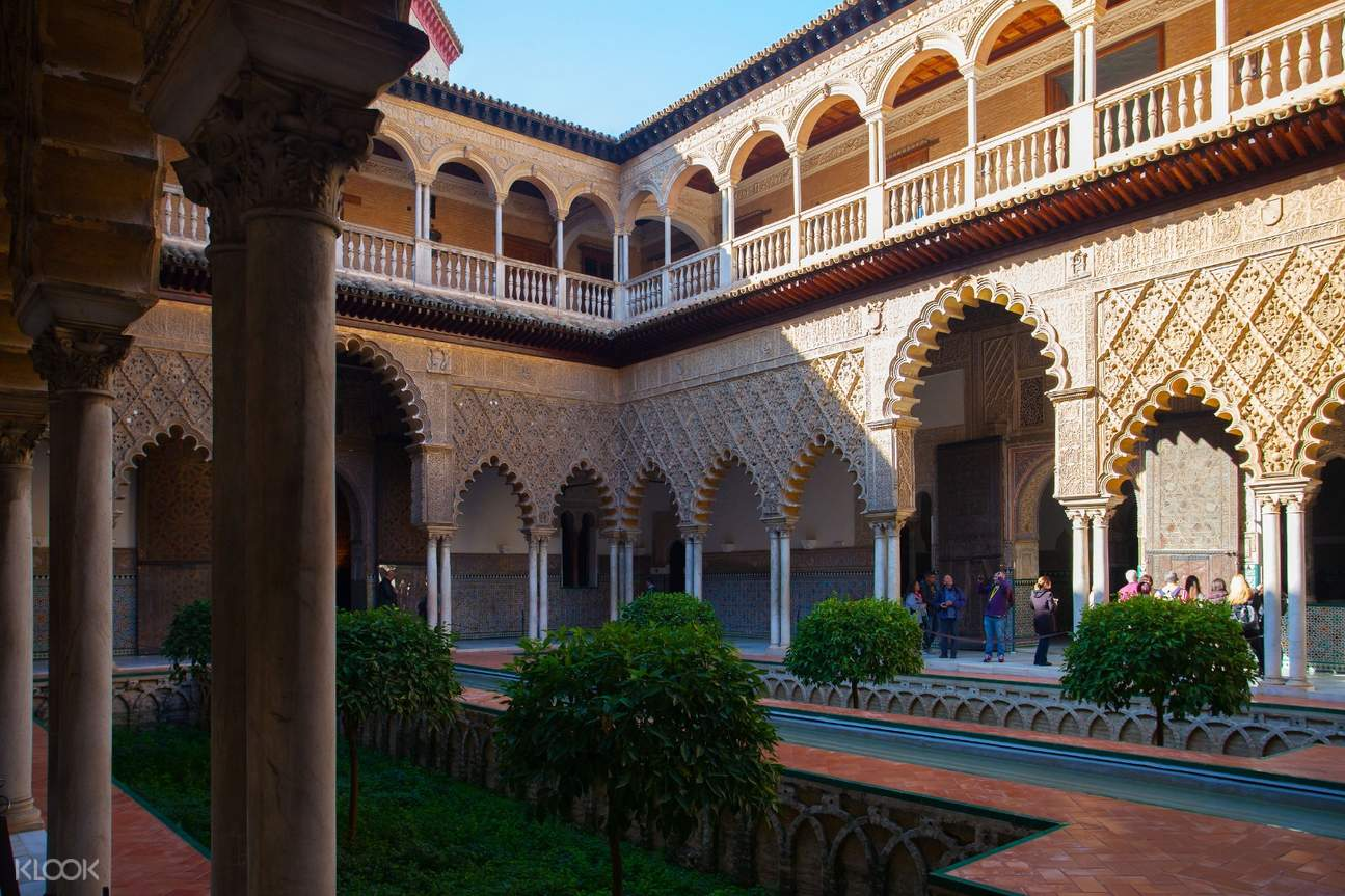alcazar of seville tour