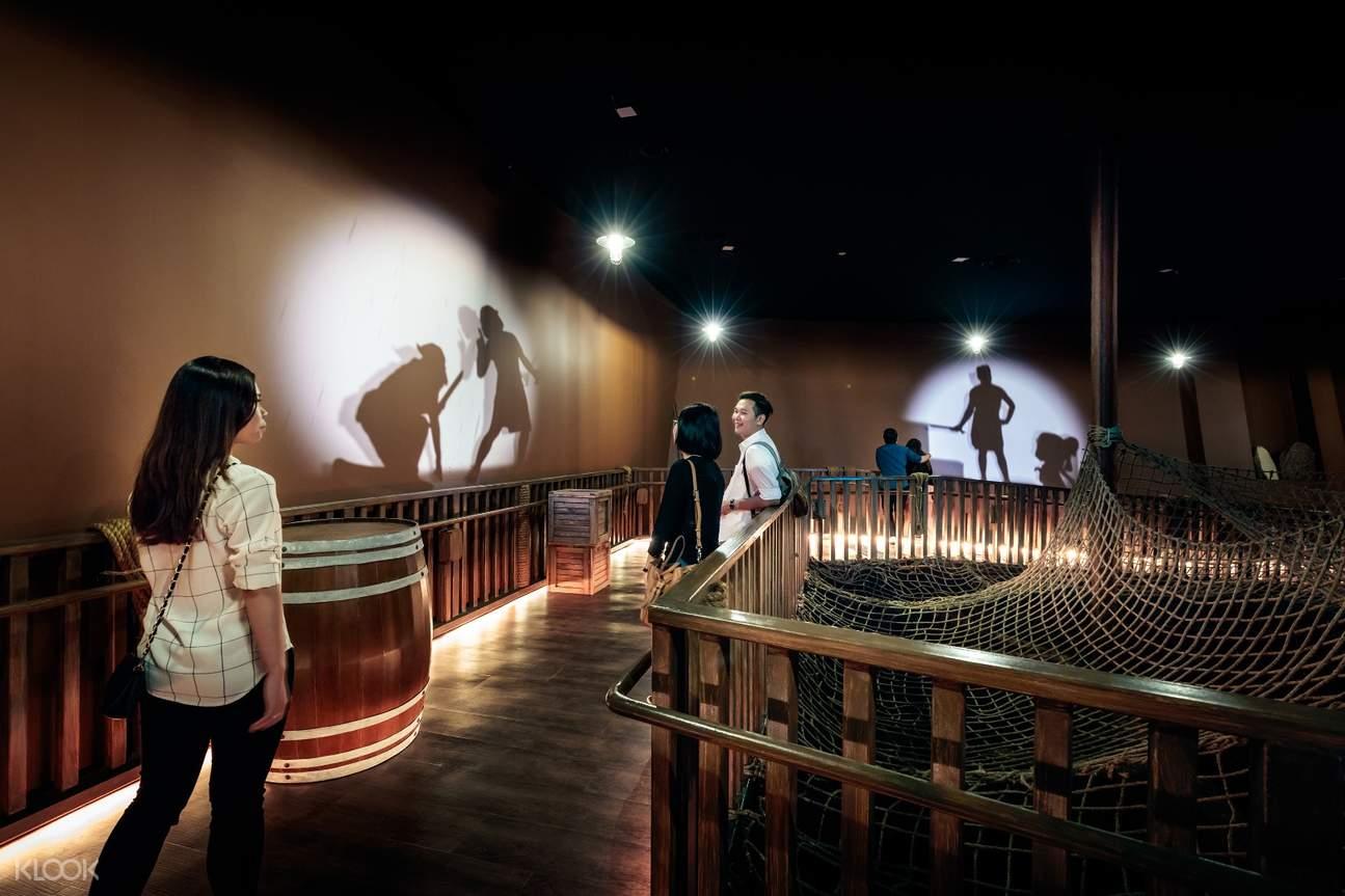 圣淘沙名胜世界海事博物馆 + 台风剧场门票