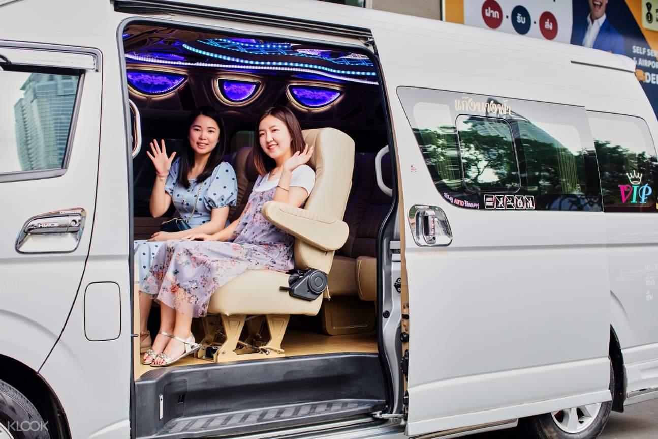 van private suvarnabhumi airport transfers for hua hin by thai rhythm