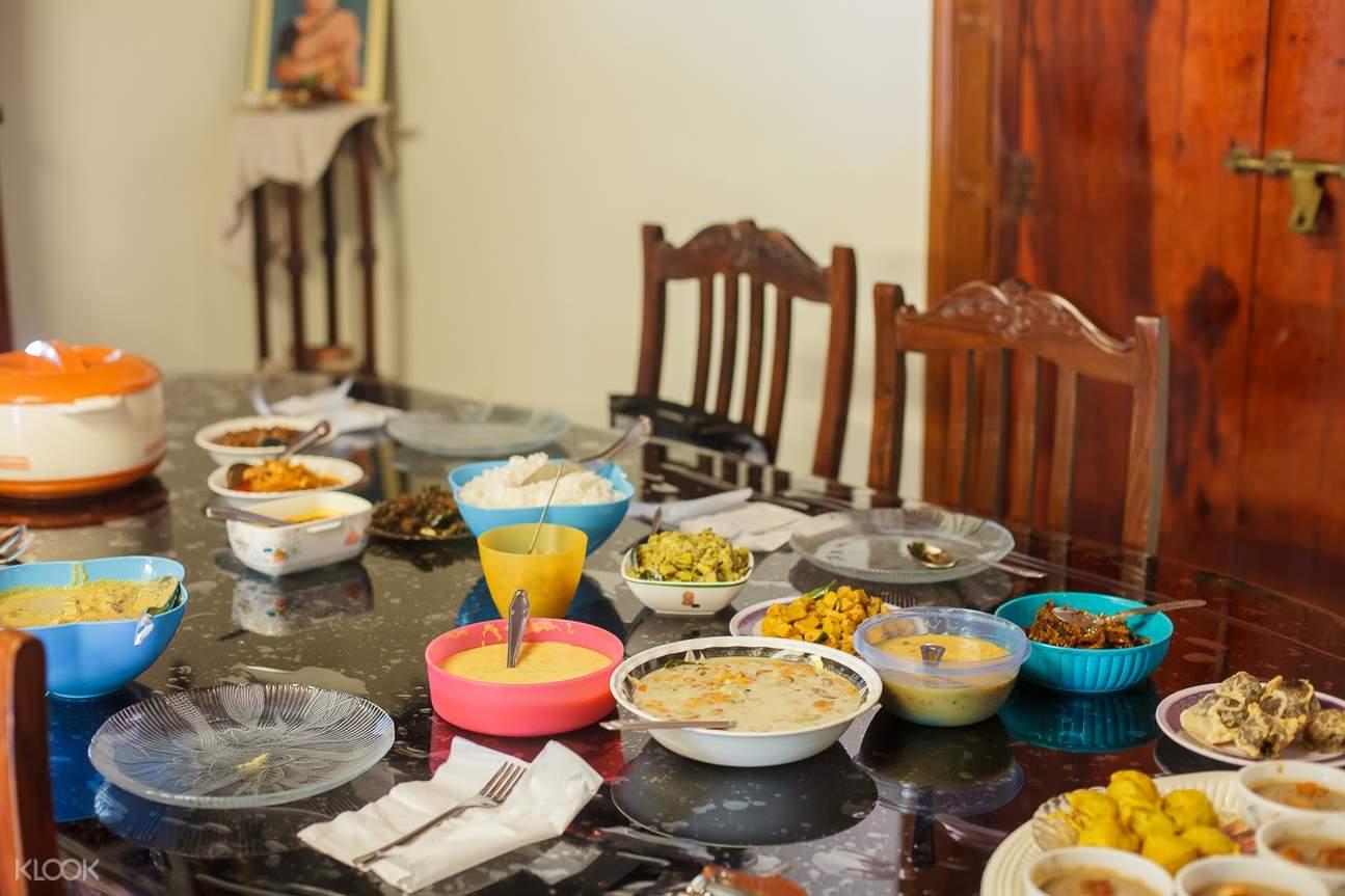 科钦传统叙利亚基督膳食美食体验