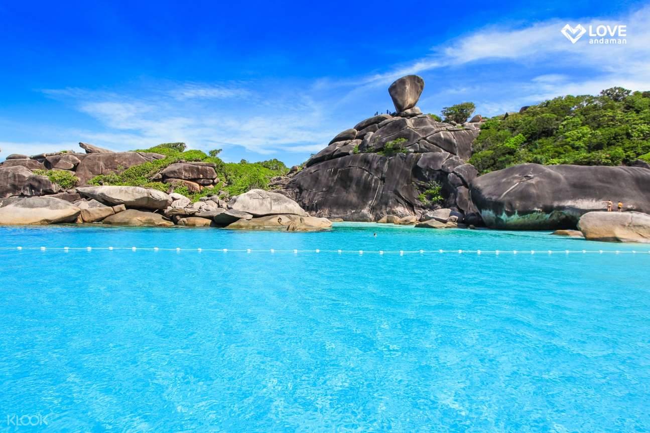 斯米兰群岛海景