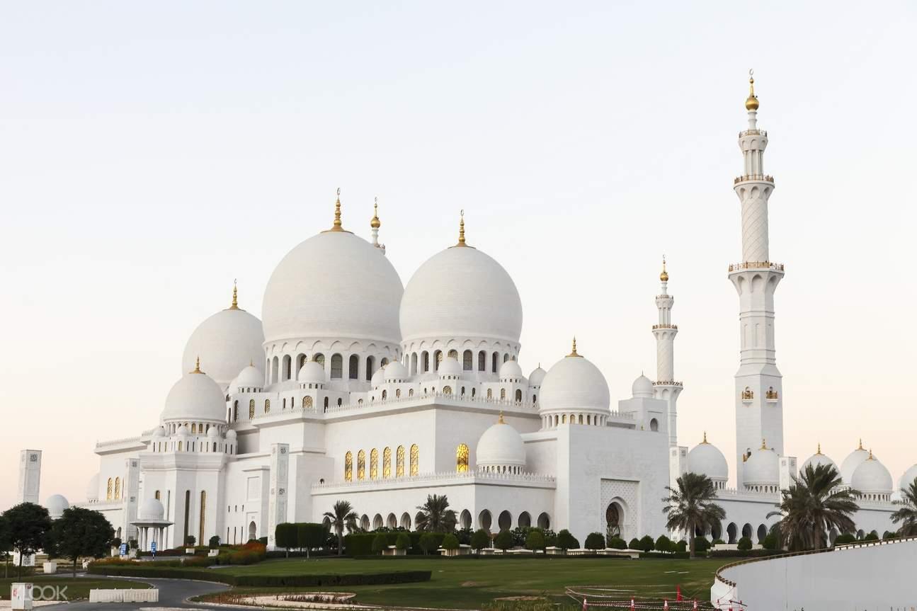 阿布扎比 谢赫扎耶德大清真寺