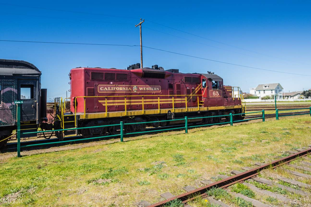 The Skunk Train Pudding Creek Express Scenic Experience