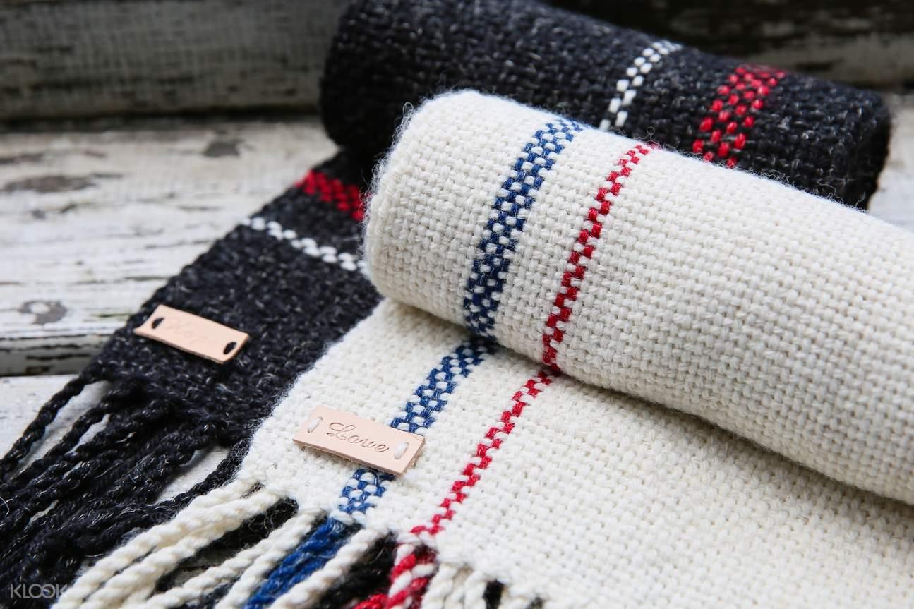 台北 织布机手织围巾体验