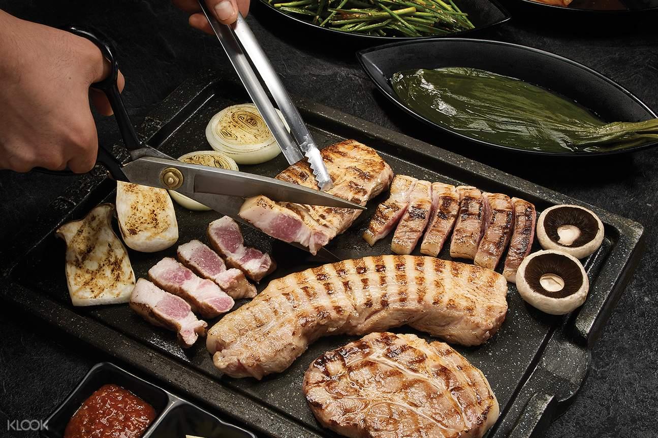 韓國首爾Hanam Pig烤肉