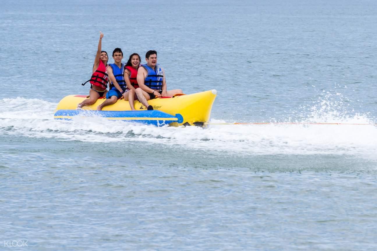 banana ride in Goa