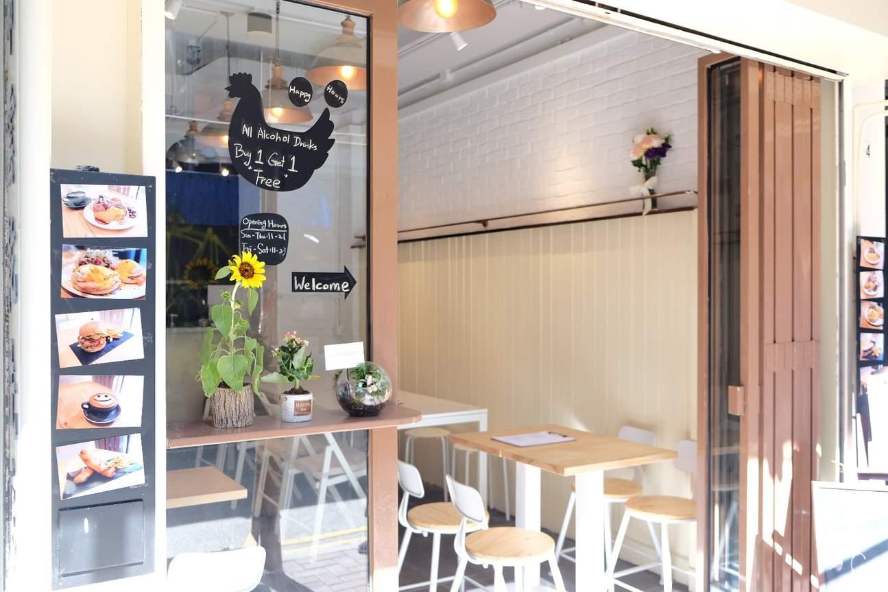 香港铜锣湾好日咖啡店