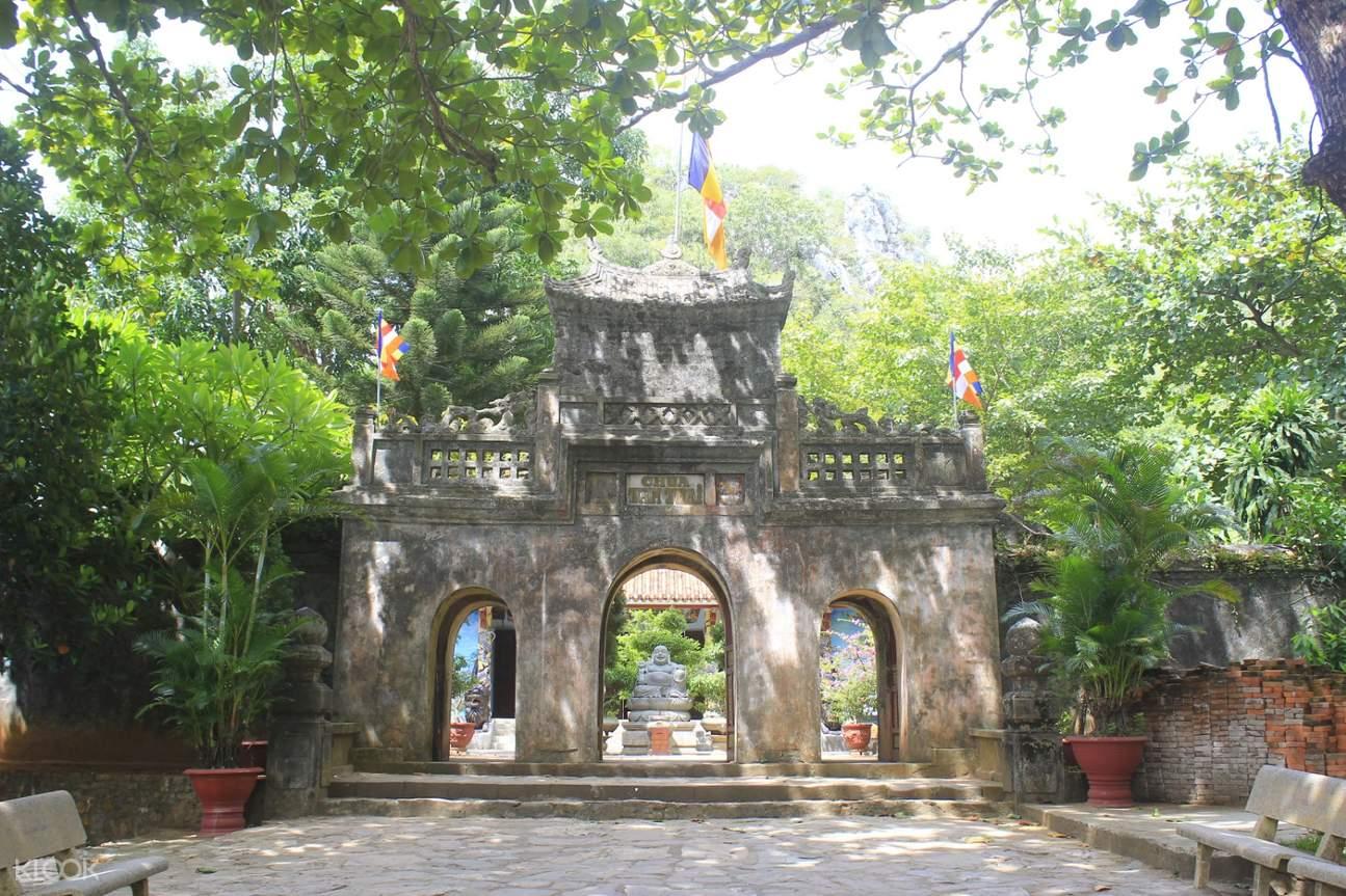 越南峴港五行山山頂寶塔