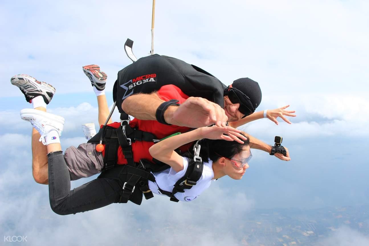 【芭堤雅First Jump】串联高空跳伞